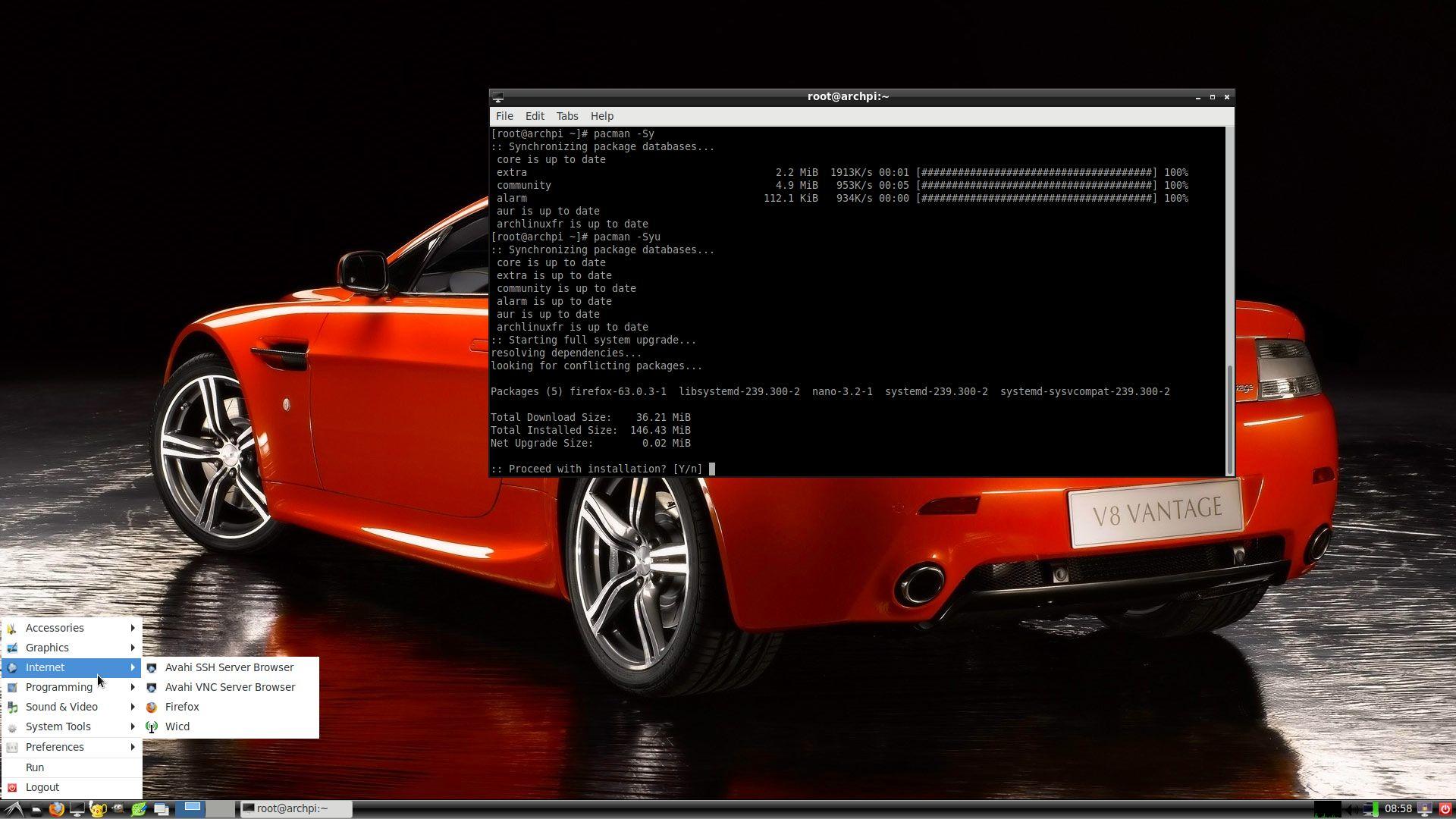 Arch linux raspberry pi 3 b+ download